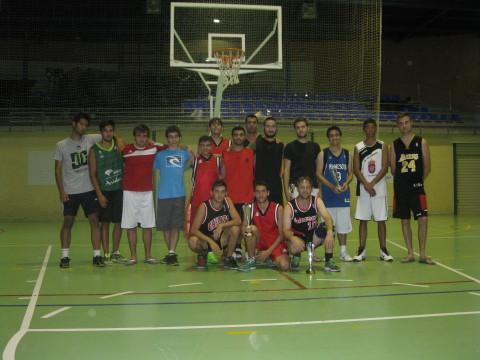 Participantes del torneo ded baloncesto 3x3