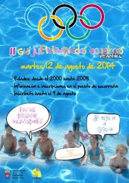 Cartel olimpiadas 2014