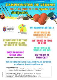 CARTEL CAMPEONATOS DE VERANO 2015