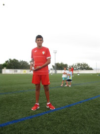 Mike Cordero Vélez mejor jugador cadete