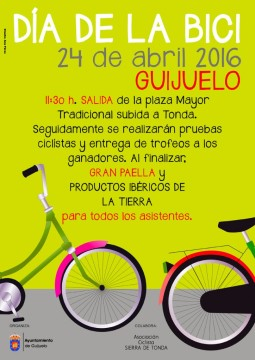 cartel dia de la bici2016